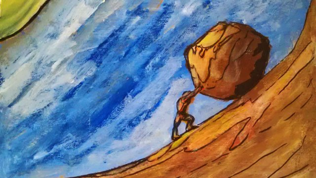 waiting for sisyphus Biblical allusion in 'the scarlet letter' november 14  is absurd play but we can see the connection between 'the myth of sisyphus' and 'waiting for.